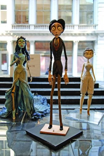 [Figure 1.35] Puppets from Tim Burton's Corpse Bride.