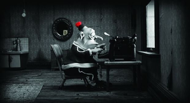 [Figure 1.40] A scene from Mary and Max. (© 2009, Adam Elliot Pictures.)