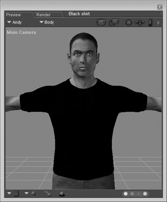 [Figure 3-25] Figure with black shirt