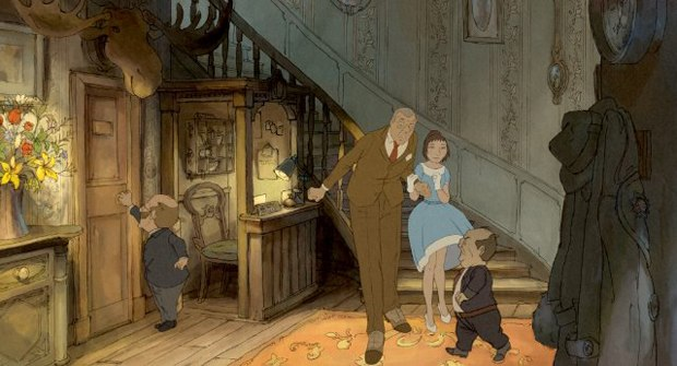 The Illusionist turned a live-action Tati script into an animated wonder. Courtesy of Sony Pictures Classics.