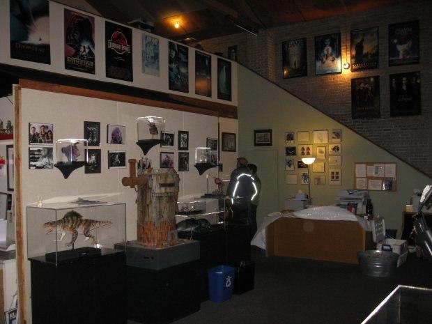Tippett's main lobby. The screening room is right off the far left corner.