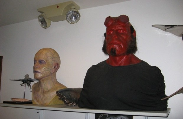 Hell Boy, they've got Hell Boy!
