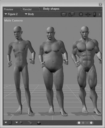 [Figure 3-29] Different body shapes