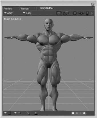 [Figure 3-32] Bodybuilder