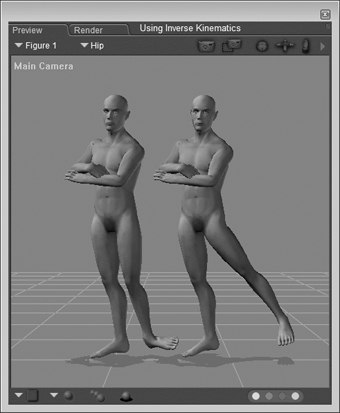 [Figure 3-39] Inverse Kinematics poses