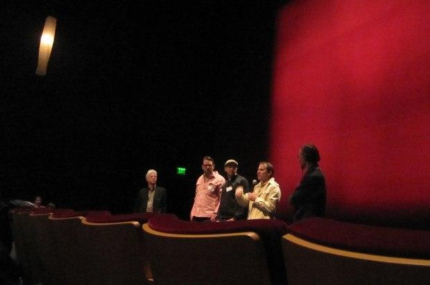 Q&A at the Pixar screening.