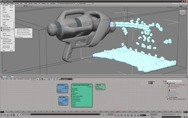 Softimage 2012 offers new single-step interoperability: you can export Softimage to Mudbox and use Softimage's ICE in Maya or Max.
