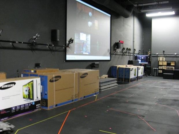 Boxes of monitors - maybe a company raffle?