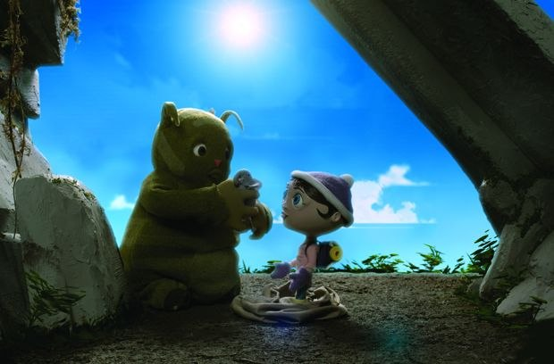 [Figure 3.57] Charlie and Ava together in a scene from the film. (Courtesy of Lucas Wareing.)