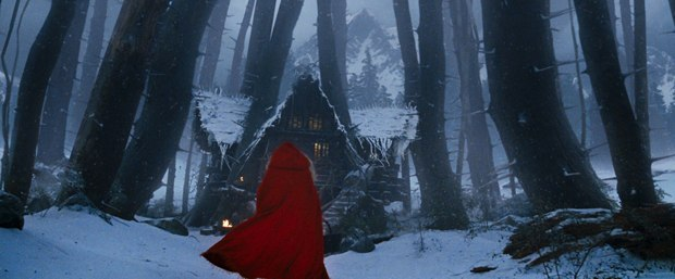 The image of the red cape evokes the right mood of power and sexuality.