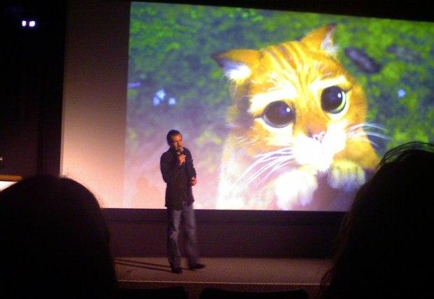 Puss in Boots director Chris Miller.