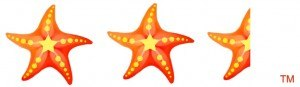 2 1/2 Starfish out of 5