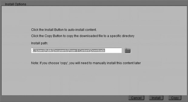 Poser 8 Revealed': Working With Files & Accessing Content Paradise