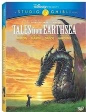 Tales of Earthsea on DVD.