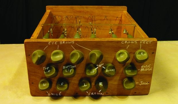 [Figure 3.101] Isomer's cable control box, labeled with functions of the different dials. (© Ron Cole)