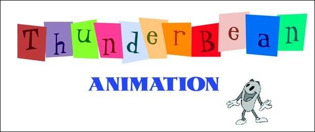 [Figure 3.115] Logo for Thunderbean Animation by Steve Stanchfield. (© Thunderbean Animation.)