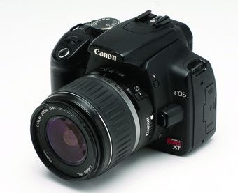 [Figure 4.4] A Canon EOS Digital Rebel XT digital SLR