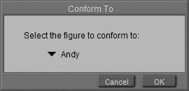 [Figure 5-20] Conform To dialog box
