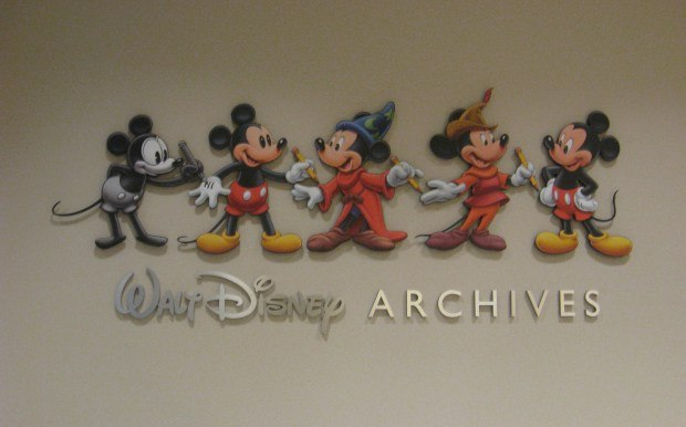 The Disney Archive sits right off the lobby of the Frank G. Wells building.