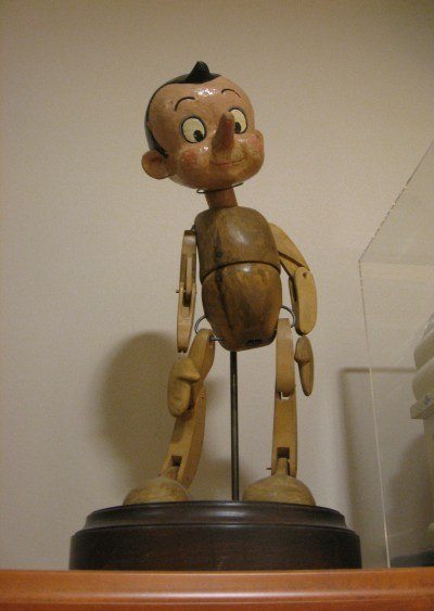 A model of Pinocchio.