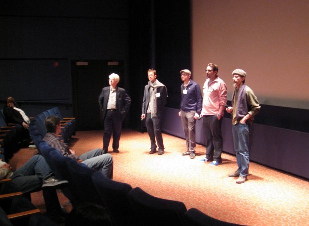 Q&A after the Feature Animation screening.