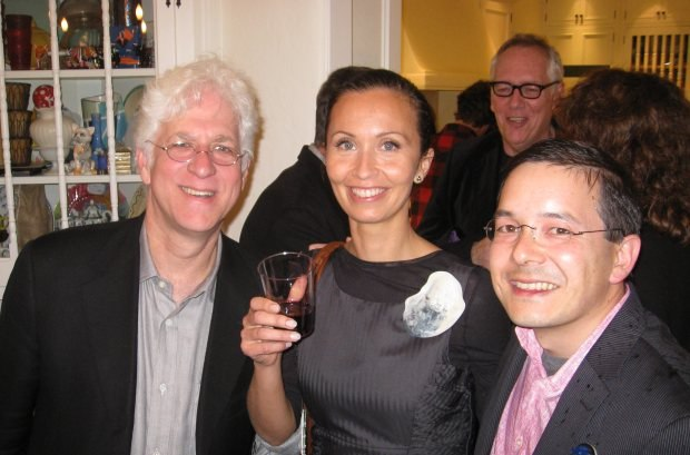 Ron, Inari Kiuru and her husband, Oscar-winner Shaun Tan (The Lost Thing).