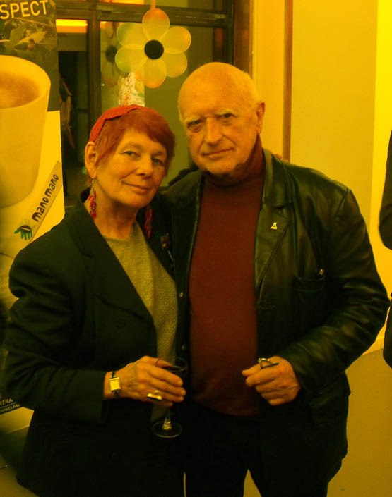 Nancy with Belgian animator legend Raoul Servais.
