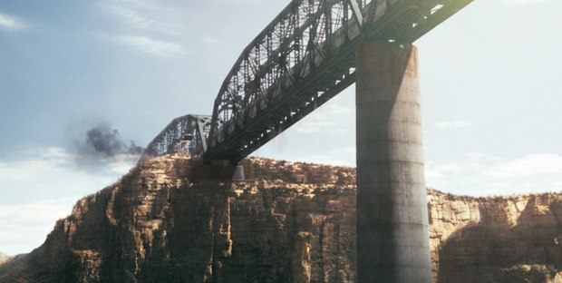 The bridge was patched together from different reference that fit with the setting and circumstance.