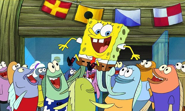 SpongeBob's code of honor is what makes him a great eponymous hero. Courtesy of Nickelodeon.