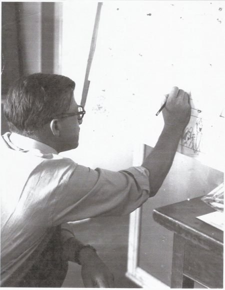 Babbitt circa 1960.