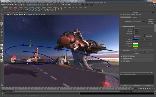 Editable Motion Trails allows you to edit animation directly in the viewport.