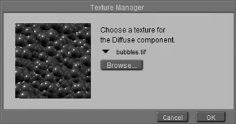 [Figure 8-9] Texture Manager dialog box
