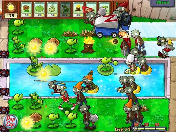Plants vs. Zombies is an app that has a great deal of re-playability.