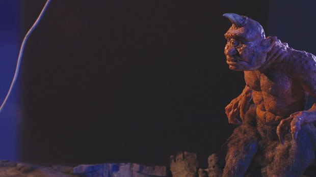 [Figure 9.39] Beauty shot from the Ray Harryhausen Tribute promo short for Stop Motion Magazine by Nick Hilligoss.