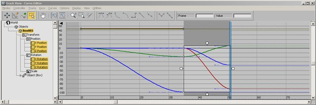 Unified curve editor gives artists better control over their animation curves.