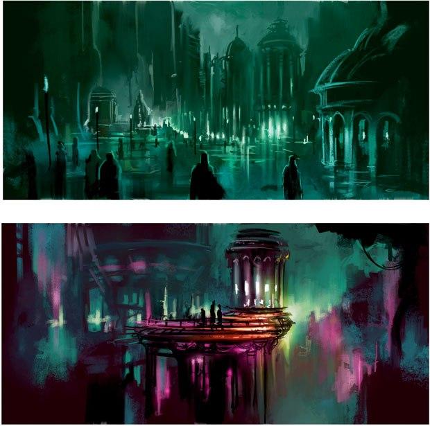 """[Figure 1.9] """"Urban Sci-Fi Concepts"""" final image."""