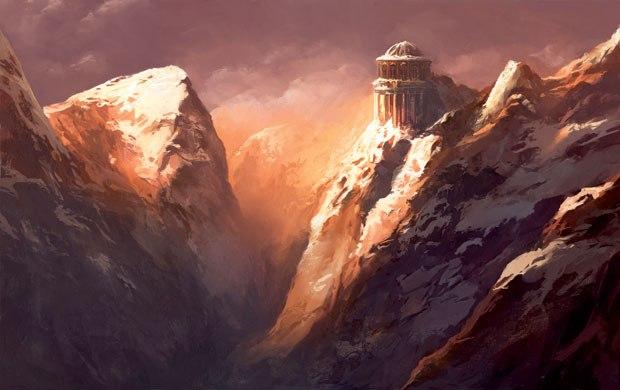 """""""Sunset Mountain."""""""