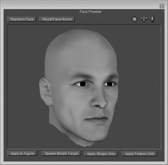 [Figure 9-4] Face Sculpting pane