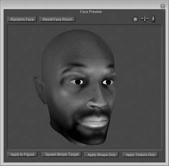 Nice message facial wrinkles in poser 7 with