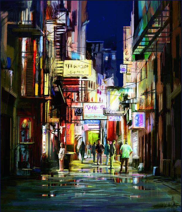 """""""Bazaar - After Rain."""""""