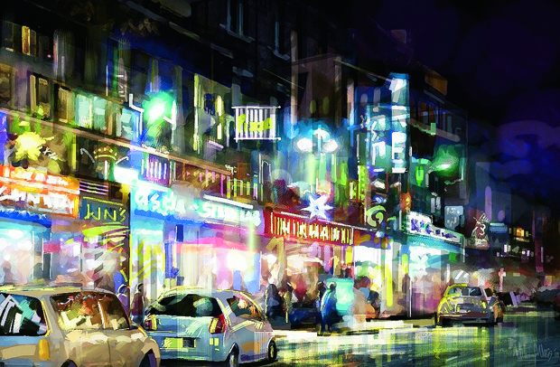 """Night Life - City Scape."""