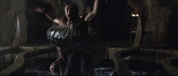 Creatures were another big element in the film.