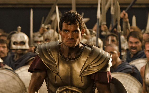Relativity Media's Immortals looks like 300 on steroids.