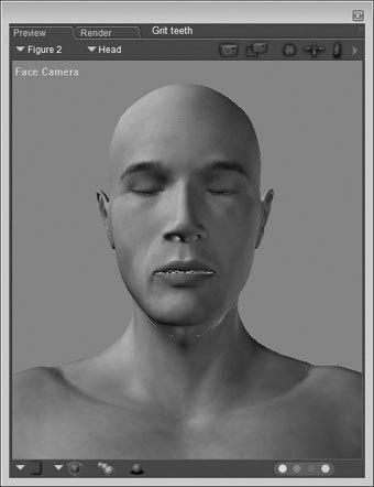 Facial Wrinkles In Poser 7