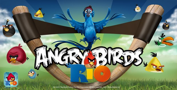 The cross promotion between Fox's Rio and Rovio's Angry Birds was an easy fit.