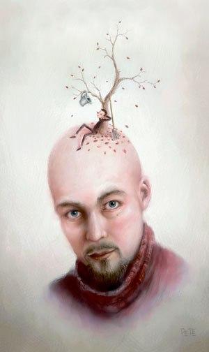 Pete Revonkorpi Self Portrait