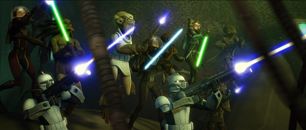 Ahsoka is now an equal to the other Jedi in the new season.