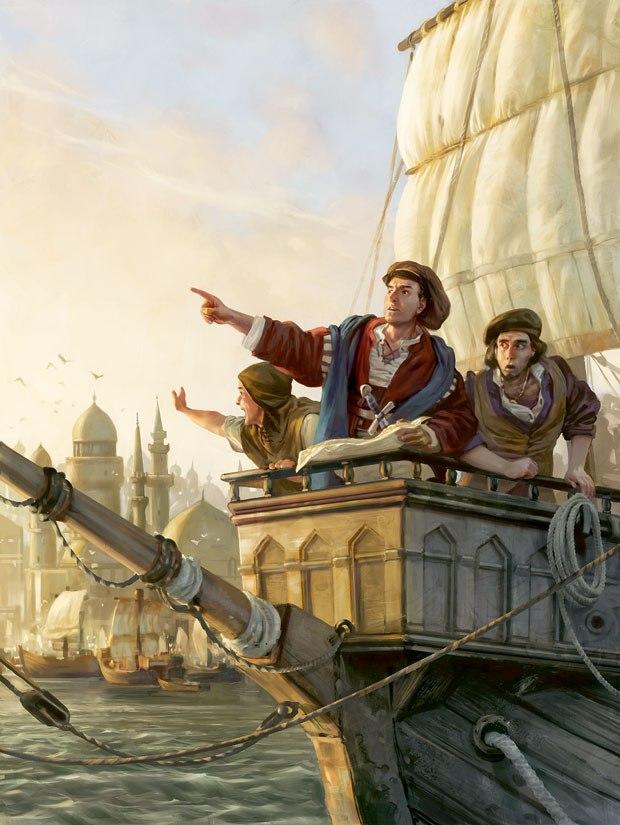 """""""Anno 1404 — Harbour."""""""
