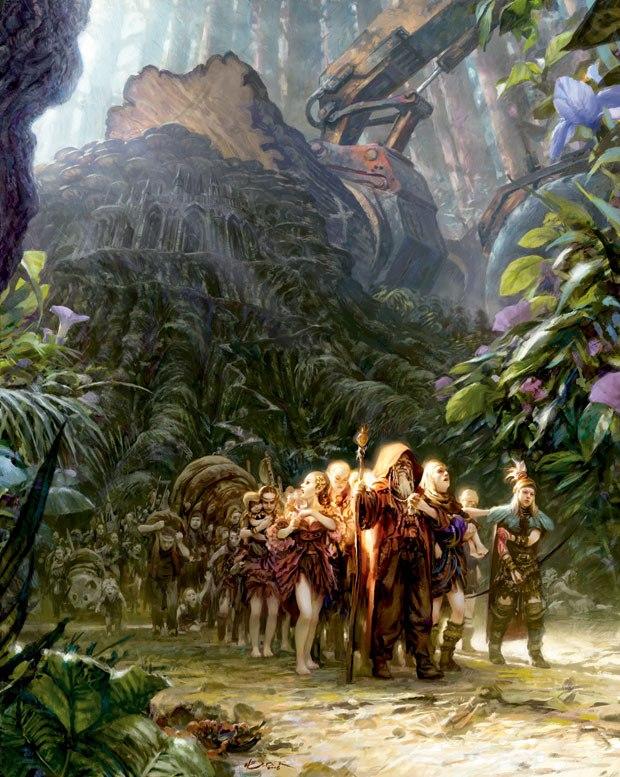 """""""Exodus of the Tree Elves"""""""