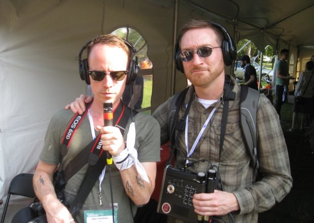 Alan Foreman, Joel Frenzer, AKA, The Frenzer Foreman Animation Forum. Just so you know, none of this equipment actually has any batteries.